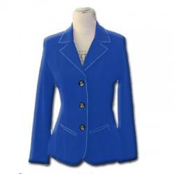 Veste bleu roi femme equitation