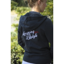 "Sweat zippé ""Amazing Lifestyle"" - Enfant"