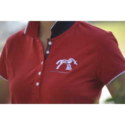 "Polo ""Amazing Lifestyle"" Rouge"