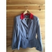 Veste de concours - collection point sellier grise col rouge
