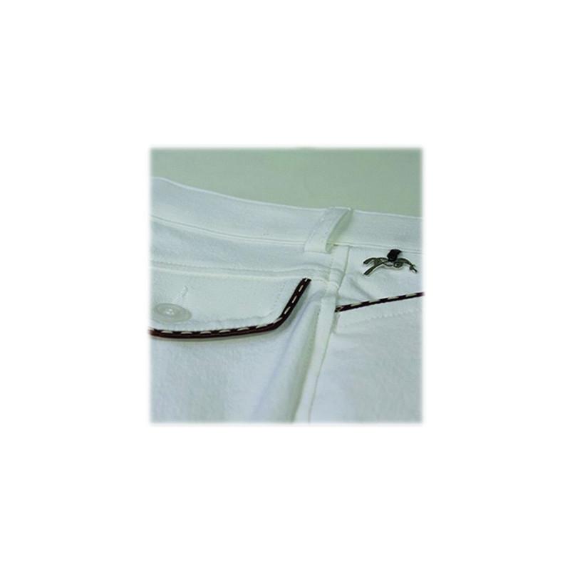 pantalon d 39 quitation blanc enfant point sellier caramel penelope store. Black Bedroom Furniture Sets. Home Design Ideas