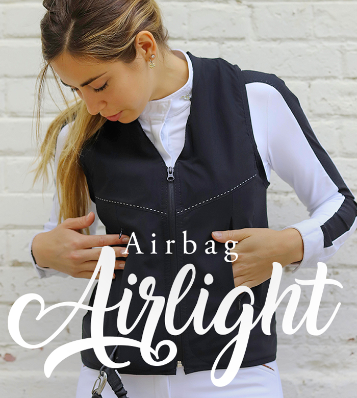 Airbag protection vest